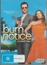 D.V.D MOVIE  DB492   BURN NOTICE  SEASON TWO   4 DISC SET  DVD