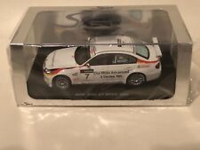 Spark S2503 BMW 320si #7 WTCC 2009 - Jorg Muller 1/43 Scale *NIB*