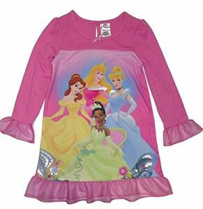 Disney Princess Pink Satin and Tulle Nightgown, Gown, Size 6