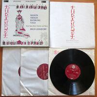 SER-4520-2 ED1 Puccini Turandot Nilsson Tebaldi Leinsdorf NEAR MINT 3xLP 1st S/S