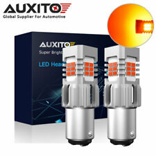 2X AUXITO Canbus 1157 BAY15D Red LED Brake Tail Stop Turn Light Bulb Error Free