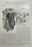 1901 Artists and Their Models illustrated