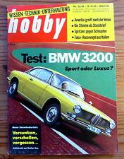 Hobby 22/62 Test BMW 3200 CS,Rolls-Royce Silver-Cloud, Test Steyr-Puch Haflinger