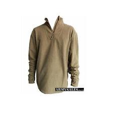 British Army Combat Undershirt Thermal, PCS Fleece Base Layer Jumper USED Grade1