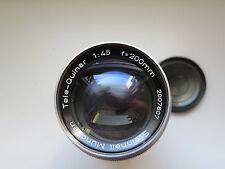 Steinheil Tele-Quinar 200mm 1:4.5 Teleobjektiv für Canon
