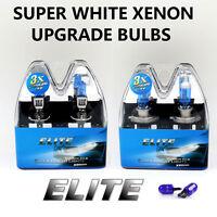 H1 H7 T10 55w SUPER BRIGHT WHITE XENON ELITE Headlight Bulbs Set Dip Main Beam Y