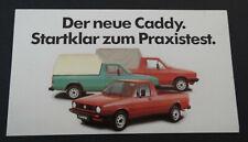 Aufkleber VW Volkswagen Ur-Caddy 14D Oldtimer 1979 Sticker