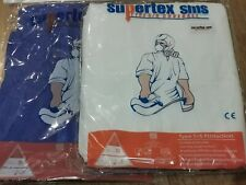 Sale!!! SUPERTEX  SMS TYPE 5/6 COVERALL,  Sell As 100 Packs Per Lot.