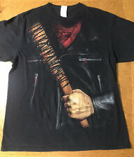 Negan Morgan And Lucille The Walking Dead T-Shirt Adult L