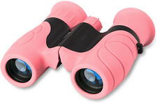 Binoculars for Kids High-Resolution 8x21,Shockproof Kids Binoculars (Pink)