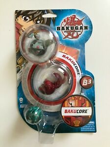 BAKUGAN - Battle Brawlers - B3 - BakuCore - 3 Kugeln Bakugan - NEU - OVP