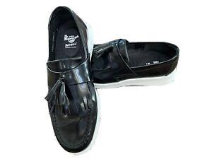 Dr. Martens Edison Soft Wair Leather Slip-On Loafers Tassel Shoe Size 9