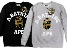 Bape Autumn Bathing Monkey Men's Hoodie Sports Sweater Crew Neck Pullover