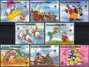 Grenada Grenadines 1998 Disney/Mickey/Olympics/Olympic Games/Sports 8v set b245d