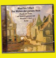 DAS WÜTEN DER GANZEN WELT Musik CD Texte DEUTSCH Maarten 't Hart