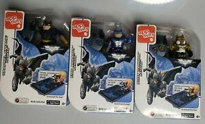 Mattel Apptivity Dark Knight Rises Riot Cannon Grapnel Attack EMP Assault Batman