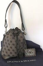 DOONEY & BOURKE Bucket Bag & Gray ID Holder