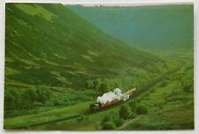 No. 1247 Train leaving Newtondale for Fen Bog Postcard (P264)