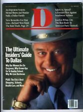 Larry Hagman on Cover of July 1987 D Magazine Dallas Texas Rocky Powell