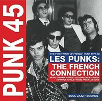Soul Jazz Records Pr - Punk 45: Les Punks: French Connection [New CD] With