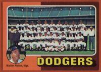 1975 Topps #361 Dodgers Team Near Mint+ Steve Garvey Don Sutton Tommy John Cey