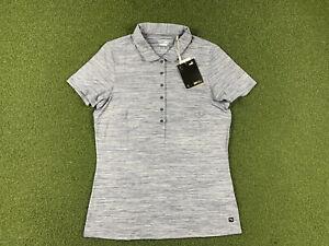 Women's PUMA Short Sleeve Golf Polo Navy Blazer Heather SZ S ( 595826 19 )