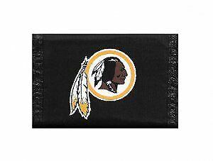 Washington Redskins Nylon Trifold Wallet
