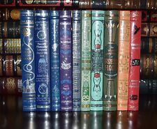 Children's Classics 10 Volume Leather Bound  Collectible New Sealed Gift  Set