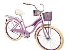 "NEW Huffy 24"" Nel Lusso Girl's Cruiser Bike Bicycle (Purple) BRAND NEW IN BOX"