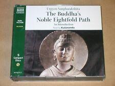RARE COFFRET 5 CD EN ANGLAIS / THE BUDDHA'S NOBLE EIGHTFOLD PATH / TRES BON ETAT