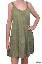 Robe Femme Ample style ethnique - PALME - T.S/M - Kaki - NEUF