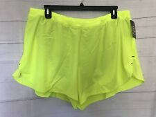 Champion C9 Lined Athletic Running Shorts -Neon - Size XL