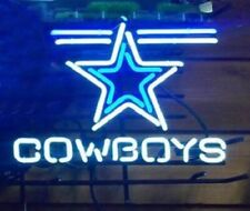"New Dallas Cowboys Neon Light Sign 17""x14"" Home Wall Decor Lamp Display"