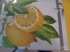 Williams Sonoma Meyer Lemon Lemons tablecloth 70 X 120  New