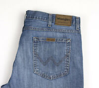 Wrangler Hommes Bootcut Jeans Jambe Droite Taille W40 L32 APZ964
