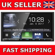 "KENWOOD DMX7017DABS 7"" Apple CarPlay Bluetooth Car Van Stereo DAB + Free Aerial"
