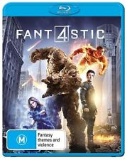 Fantastic Four (Blu-ray, 2015) NEW Four Fant4stic BRAND NEW