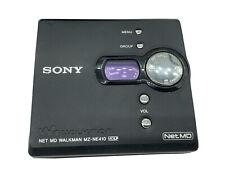 sony walkman mz-ne410
