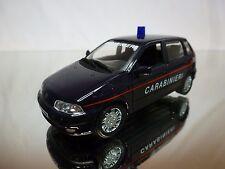 HONGWELL FIAT PUNTO SX - CARABINIERI - BLUE 1:43 - GOOD CONDITION