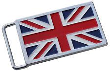 Union Jack flag British belt buckle - cast metal