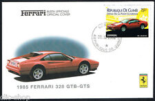 FERRARI BUSTA UFFICIALE 1985 FERRARI 328 GTB-GTS OFFICIAL COVER