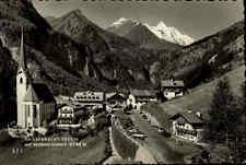 Heiligenblut Österreich Kärnten ~1950/60 Großglockner Berge Dorf Kirche Straße