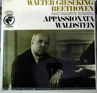 Beethoven: Piano Sonatas Passionate, Waldstein/Walter Gieseking - LP