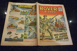 THE ROVER & WIZARD Comic - Date 19/11/1966 - UK Comic