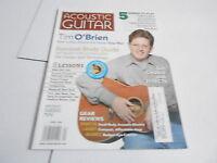 APRIL 2006 ACOUSTIC GUITAR vintage music magazine TIM O'BRIEN