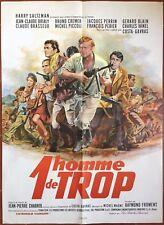 Affiche UN HOMME DE TROP Costa-Gavras CHARLES VANEL Bruno Cremer 60x80cm