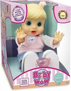 Baby Wow Megan Interactive Baby Doll