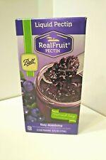Ball Liquid Pectin, Real Fruit Pectin, Homemade Jam & Jellies  2- 3oz pouches