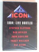 ICON: 1984 LIVE CONCERT DVD W/NIGHT OF CRIME ERA TUNES! 80's HARD ROCK HTF OOP