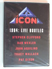ICON: 1984 LIVE CONCERT DVD W/NIGHT OF CRIME ERA TUNES! 80's HARD ROCK HTF OOP